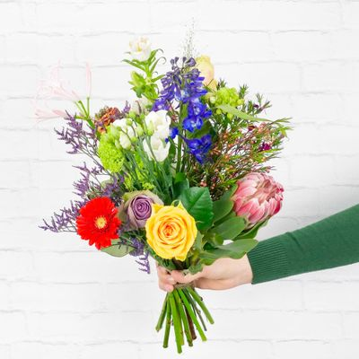 groot boeket bloemen